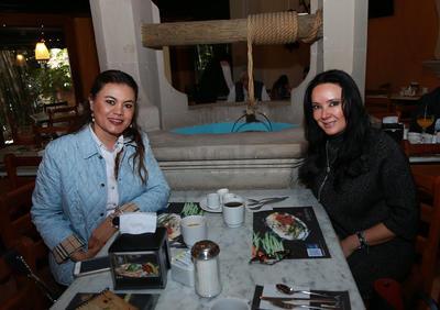 Judith Rincón y Judith Martínez.