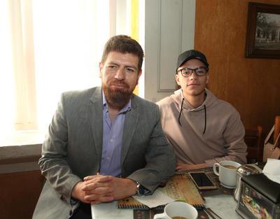 Gregorio Rodríguez y Kevin Saúl Rodríguez