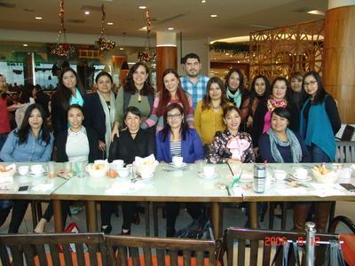 05042018 Claudia, Minerva, Laura, Rocío, Jorge, Rubí, Claudia, Orali, Vicky, Lorena, Adriana, Lupita, Mayela, Claudia y Gaby.