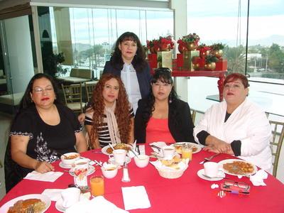 05042018 Liliana, Cynthia, Cony, Ely y Yadi.