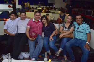 05042018 Hugo, Jesús, Javier, Saraí, Elizabeth y César.