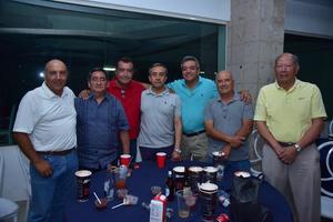 07042018 Héctor, Mario, Eduardo, Jaime, Javier, Armando e Ignacio.