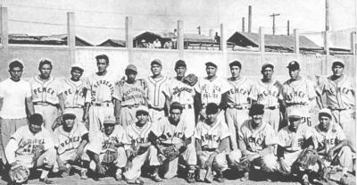 08042018 Equipo de Beisbol Ventas PEMEX Torreón en 1957.