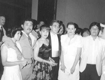 08042018 SIlvia, Gerardo, Blanca, Óscar, Claudia y Óscar Rimada Salazar, hace varias décadas