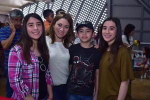 09042018 Frida, Janeth, Gael y Michelle.