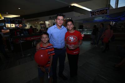Juan Manuel, Nicolás y Juan.