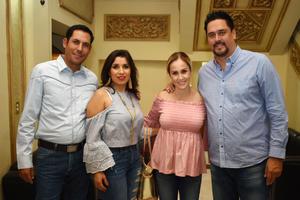 10042018 Rolando, Berenice, Cristina y Salvador.