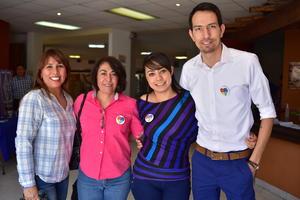 10042018 Lolis, Claudia, Ángeles y Octavio.