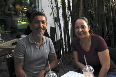 Miguel y Martha.
