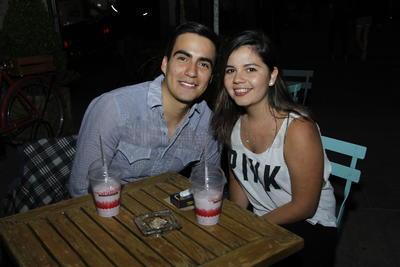 Guillermo  y Angélica.