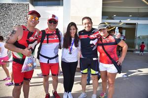11042018 DEPORTISTAS.  Memo, Miguel, Ana, Jorge y Claudia.