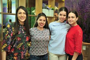 13042018 Elisa, Alejandra, Mariana y Samantha.