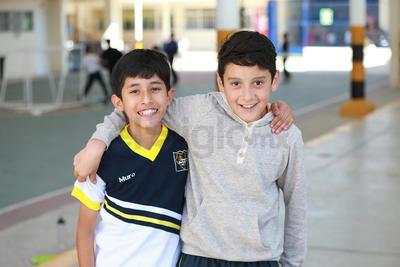 Yohan y Alberto.
