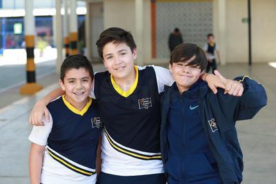 Leo, Emiliano y Erick.