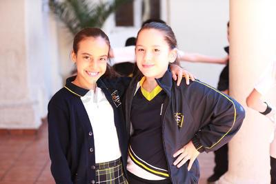 Aranza y Sofía.