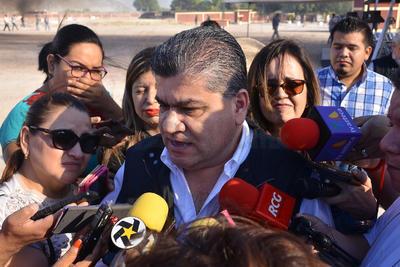 El gobernador del Estado, Miguel Ángel Riquelme, aseguró que los indices delictivos en Coahuila se han reducido considerablemente.