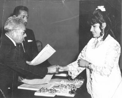 15042018 Vicky de los Reyes Ibarra en 1973.