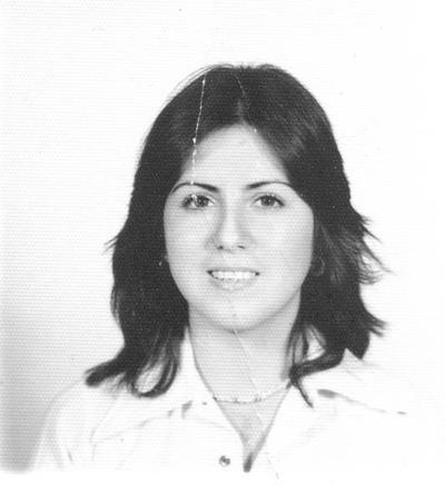 15042018 María Guadalupe Barba Dávila en 1980.