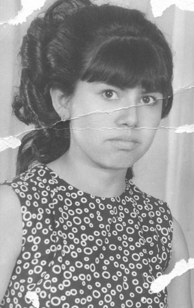 15042018 Ma. Guadalupe Ríos Rocha en 1952.