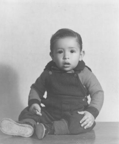 15042018 Daniel Vázquez Machado en su primer año de vida.
