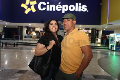 Raquel Palacios y Daniel Orona.