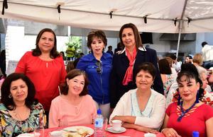 14042018 Mireya, Nelly, Purry, Maru, Pily, Bedia, Cristy, Ana Isabel, Lorena y Mónica.