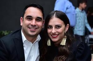 Agustín y Cynthia