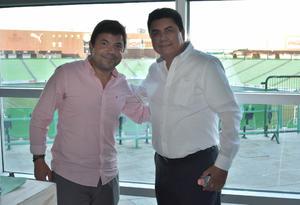 Moy Arce e Ignacio Garcia