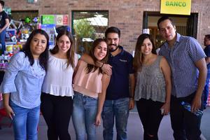 18042018 Lily, Karla, Marifer, Diego, Karen y Gerardo.