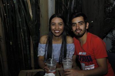 Lupita y Carlos.