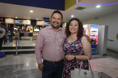 Felipe Correa y Daniela Montiel.