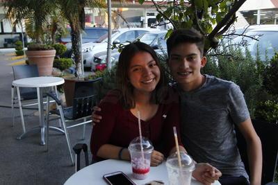 Ana y Miguel.