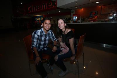 Gustavo y Andrea.