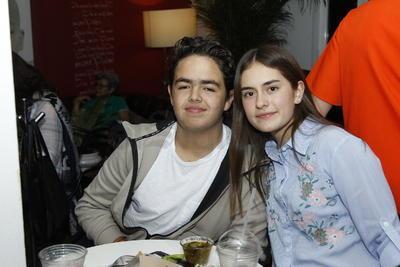 Diego y Paulina.