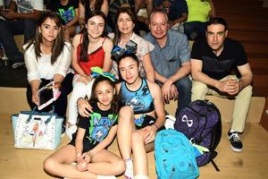 20042018 EVENTO DEPORTIVO.  Lety, Kenya, Margarita, Carlos, Ramón, Andrea y Argelia.