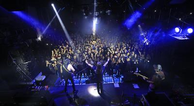 Así lo confesó ante los cientos de admiradores que los acompañaron de nueva cuenta en el concierto que ofrecieron en conocido club nocturno de la ciudad como parte de su XXX Aniversario Tour la noche del jueves.