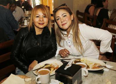Rocío Vázquez y Laura Tirado.