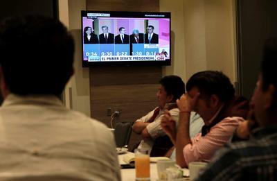 El debate se pudo seguir por TV abierta y medios digitales.