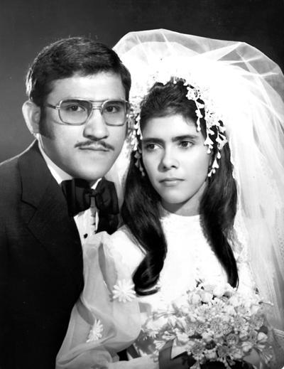 22042018 Lic. y C.P. Benjamín Balderas Luna y Sra. Ibet Rubio de Balderas en 1973.