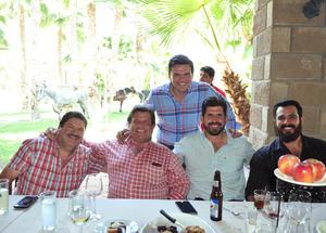 22042018 Chava, Miguel, Miguel, Miguel y Javier.