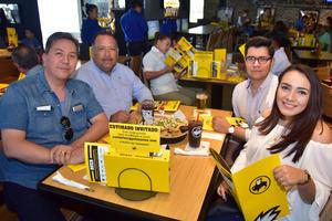 23042018 Mario, Juan, Laura y Carlos.