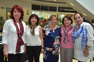 23042018 Laura, Chepis, Marissa, Pilar y Rocío.