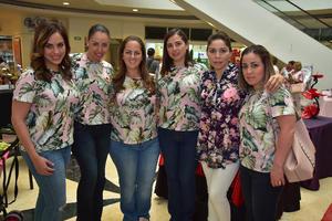 23042018 Estefanía, Gabriela, Brenda, Marijo, Cecilia y Fernanda.