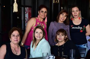 24042018 DESAYUNO POR ANIVERSARIO.  Luz María, Gabriela, Lily, Carmen, Martha, Mayela y Cuquis asistieron a la celebración del 30 aniversario de Casa Feliz.