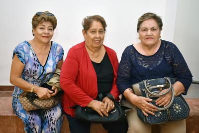 26042018 María del Socorro, Irma y Lucy.
