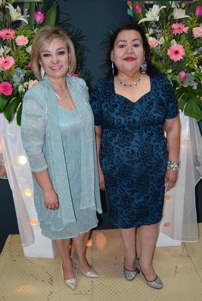 26042018 Blanca A. Rodríguez y Albina Zabala, cumplieron 35 años de servicio educativo.