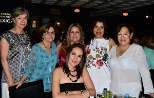 26042018 Georgina, Verónica, Martha, Lilia, Bere y Mary.
