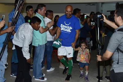 Joahan revivió bonitos momentos que pasó con Santos Laguna anoche en el partido de 'Guerreros Legendarios'.