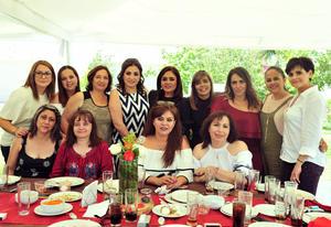 28042018 CUMPLE 50 AñOS DE VIDA.  Kora Contreras disfrutó de su celebración de cumpleaños.