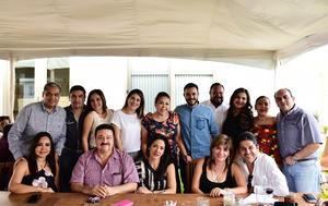 28042018 FIESTA DE CUMPLEAñOS.  Paulina fue festejada por sus familiares y amigos.